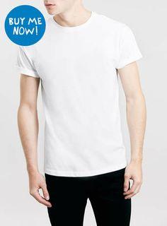 WHITE ROLLER CREW NECK T-SHIRT