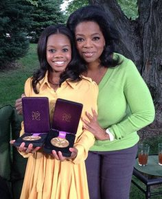 This is how you do it! Knock the haters. Gabby Douglas on Oprah - Google Search
