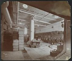 New York City: Interior of the rathskellar/wine cellar at the Hotel Astor, Broadway and Street, circa 1904 New York Hotels, Vintage New York, At The Hotel, Wine Cellar, New York City, Broadway, Street, Interior, Riddling Rack
