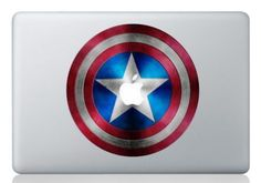 captain america macbook pro decals - Google Search