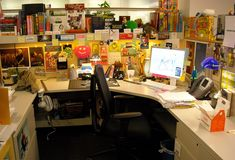 #cubedecor This is a bit cluttered, but I like