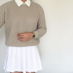 The Fisherman Pullover & Tennis Skirt