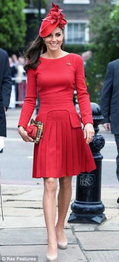 Kate Middleton...not crushing...just the clothes.