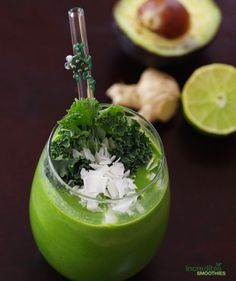 Ginger Lime Cold and Flu Green Smoothie Recipe