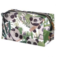 If you like your gifts fun and practical then look no further than our range of make bags and purses. Made from a durable fabric these are ideal for kids and adults of all ages. Dimensions: Height 11cm Width 20cm Depth 9cm (approx 4.5 x 8 x 3.5 inches) Material: PVC Gifts For Mum, Little Gifts, Panda Mignon, Lulu Shop, Panda Love, Wooden Letters, Unusual Gifts, Wash Bags, Novelty Gifts