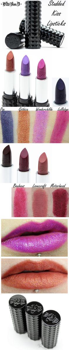 Kat Von D Studded Kiss Lipsticks