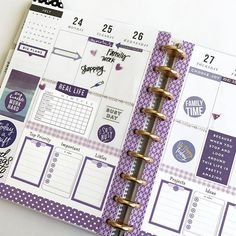 Organize your life with our creative planner pages including budget printables, fitness kits, cleaning schedules, meal planners and calendars. Planner Stickers, Planner Pages, Printable Planner, Printables, Best Planners, Day Planners, Ipad, Planer Layout, Mini Happy Planner