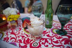 dc gourmet club.  Individual Tres Leches Coconut Trifle.  Fiesta Party