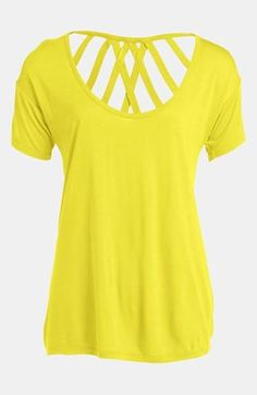 Cute! Crisscross Top.