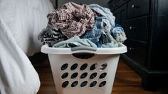 Laundry hack - Even lazy people have to do their laundry eventually.