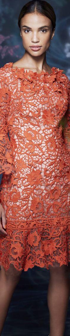 Marchesa Spring/Summer 2021 RTW Marchesa Fashion, Marchesa Spring, Love Fashion, Fashion Design, Orange, Couture Fashion, One Shoulder, Spring Summer, Shades