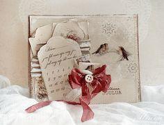 Mintun askartelujutut: Valkeaa joulua...