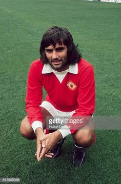 A portrait of Irish soccer player George Best He was leading scorer for Manchester United during 196768 and won a European Cup medal and European. Gq, Lifestyle Sports, International Football, Manchester United Football, Professional Football, Man United, Best Player, Green Shirt, Good Looking Men