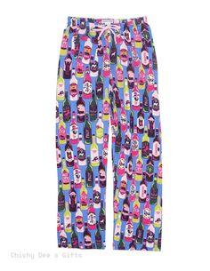 bfffdbee4d4a Hatley Women s PJ Pajama Pants NORTHERN WINE