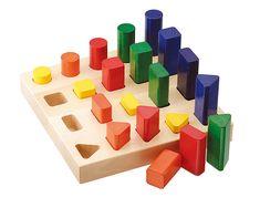 2歳の発達をグングン伸ばす知育玩具&おもちゃ30選!モンテッソーリ教育にも! | STUDY PARK まなびラボ Montessori, Triangle, Wooden Toys