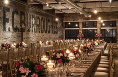 Want your wedding day to be an industrial chic dream? Toronto is the place to find loft wedding venues. Wedding Venues Toronto, Outdoor Wedding Venues, Indoor Wedding, Wedding Art, Wedding Vows, Wedding Anniversary, Dream Wedding, Loft Wedding Reception, Warehouse Wedding