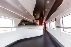 Eurostar unveils train design by Pininfarina to celebrate 20th anniversary.
