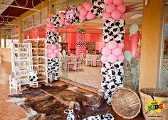 A Fábrica de Sonhos Decoração Infantil: Fazendinha Rosa