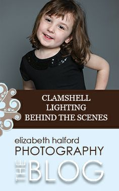 Want to see the super easy lighting set up magazines use for their shots? Check out this behind the scenes post on clamshell lighting.