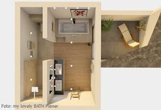 Badezimmer Grundriss Planung Badezimmer … Mehr Tips On Choosing A Futon Bed Article Body: There are Bathroom Layout, Modern Bathroom, Small Bathroom, Beautiful Bathrooms, Bathroom Ideas, Bathroom Floor Plans, Bathroom Flooring, Casa Top, Ideas Baños