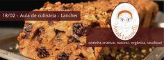 Alimentação Integrativa - Receitas para Viver Bem: AULA DE CULINÁRIA - LANCHES COM SABOR DE SAÚDE