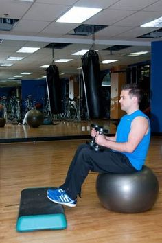 Seated Calf Raise Alternative for Gym