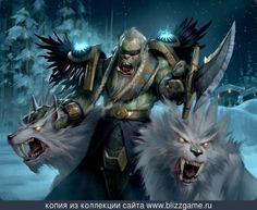Drek'thar, Frostwolf General by Slawomir Maniak