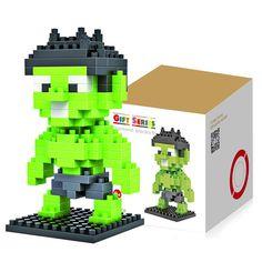 130 Pcs Hulk Building Block Creative ABS Material Kid Toy