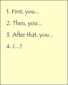 Cómo dar instrucciones en inglés