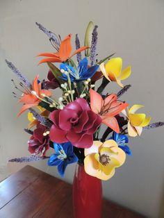 Another Arizona Sunset balloon fantasy flower arrangement