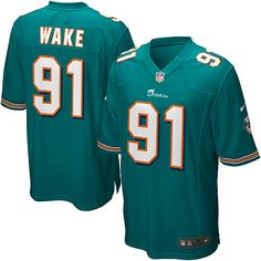 Men s Nike Miami Dolphins Cameron Wake Game Team Color Jersey - NFLShop.com  Miami Dolphins e89097999