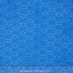 Midnight - Lattice Blue Yardage
