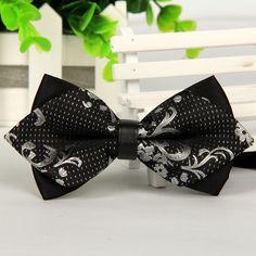 2014 men self bow tie 20 colors silver and black silk butterfly gentlemen gravatas borboleta fashion casual designer brand lot-in Ties & Handkerchiefs from Apparel & Accessories on Aliexpress.com | Alibaba Group