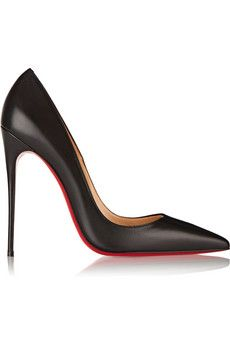 So Kate 120 leather pumps by: Christian Louboutin @Net-a-Porter (Global)