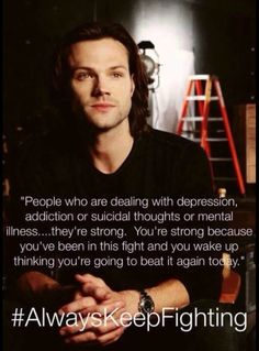 always keep fighting quotes - Google Search #JaredPadalecki