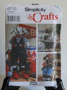 30 Dog Doll and Clothes Sewing Pattern puppy by latenightcoffee, $12.00