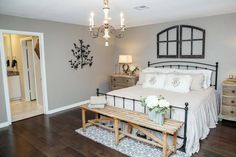 HGTV rustic bedroom