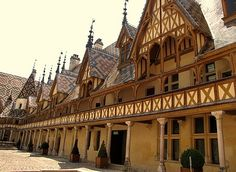 Beaune, France.  It is the wine capital of Burgundy in the Cote d'Or department in eastern France . It is located between Paris and Geneva.