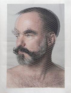 david samuel stern -- woven photographs -- art
