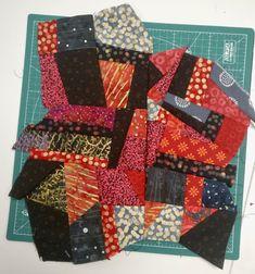 Tuto : Crazy patchwork sans support ni patron | L' Atelier d Emma