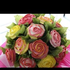 Amazing cupcake bouquet! Something to inspire to!!