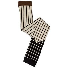 Tinycottons Color Block Leggings Beige/Black Beige / Black