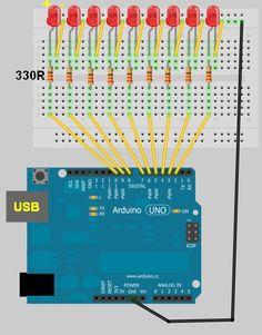 Arduino Leds  #arduino #led