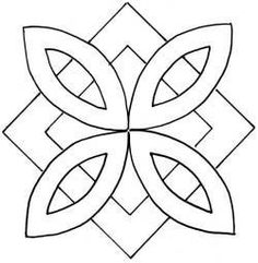 Trendy Design To Draw Zentangle Tangle Doodle Ideas Mandala Stencils, Quilting Stencils, Quilting Templates, Stencil Patterns, Stencil Designs, Mosaic Patterns, Craft Patterns, Quilting Designs, Embroidery Patterns