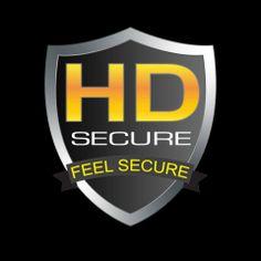 HD secure logo design