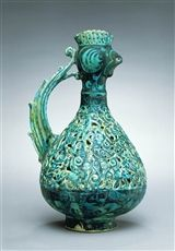 EWER WITH ROOSTER HEAD (1989.34) — The Detroit Institute of Arts