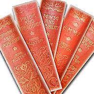 Bookmarks - 'Antique Austen Books'  - Jane Austen ...