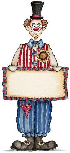 *CLOWN ~ Tays Rocha: Festa Circo - ideias, printables e dicas! Circus Birthday, Circus Theme, Circus Party, Circus Activities, Circus Crafts, Vintage Circus Posters, Circo Do Mickey, Mime, Clown Paintings