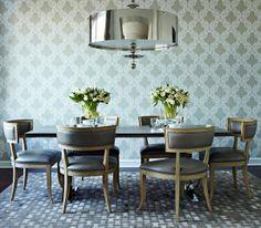 Große Pendelleuchten im Esszimmer – moderne Hängelampen - Große Pendelleuchten im Esszimmer klassisch wohnstil