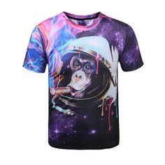Sloth T Shirt 3D Harajuku Funny Animals Hip Hop Sport Tshirt Mens Shirts Fashion 2016 Wholesale Drop Shipping High Quality Tees